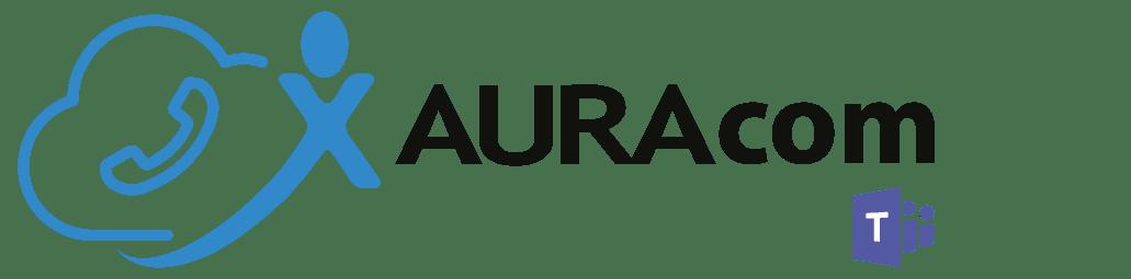 Logo-AURAcom avec Teams